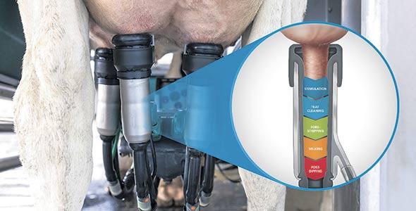 Le DairyRobot R9500 coûte environ 250000$ l'unité.