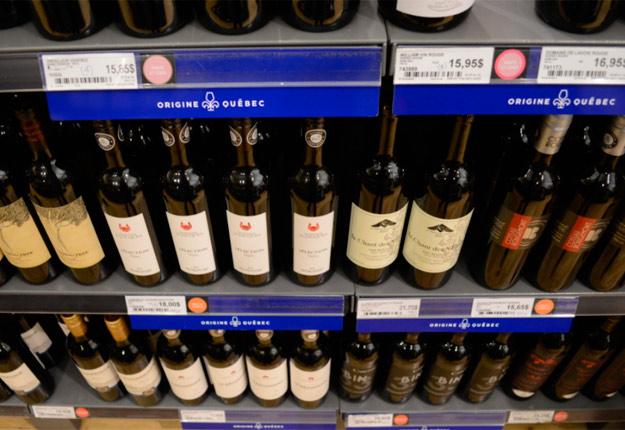 Les ventes des vins du Québec à la SAQ ont bondi de 60 % en avril. Photo: archives TCN