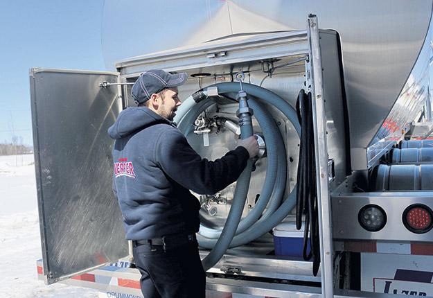 L'industrie laitière attend toujours les indemnisations promises par le gouvernement Trudeau pour les pertes de marchés encourues à la suite de l'entrée en vigueur de l'ACEUM. Photo : Archives TCN/Josianne Desjardins