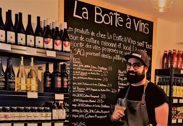 Photo : Gracieuseté La Boîte à vins