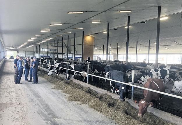 Danone commence à paramétrer les émissions de gaz à effet de serre et l'impact de la production laitière sur l'environnement afin d'apporter des solutions qui amélioreront les pratiques à la ferme. Photo : Gracieuseté de Danone