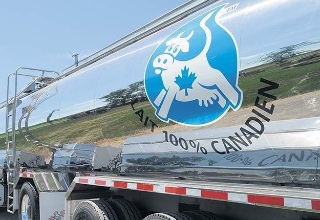 Les approvisionnements de lait étaient interrompus depuis deux semaines à l'usine Parmalat de Victoriaville. Photo : Archives / TCN