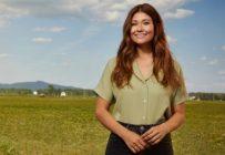 Katherine Levac sera la nouvelle animatrice de la neuvième saison de L'amour est dans le pré. Photo: Gracieuseté Bell Media
