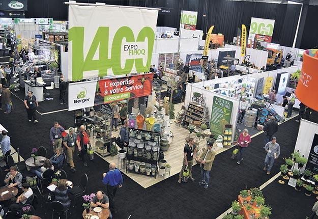 Pour son édition 2020, l'exposition horticole de Québec Vert devrait adopter une formule hybride permettant d'accueillir le public tout en diffusant du contenu en ligne. Photo : Archives/TCN
