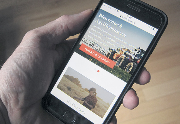 Les agriculteurs peuvent poser leurs questions sur le nouveau site AgriRéponse.ca.
