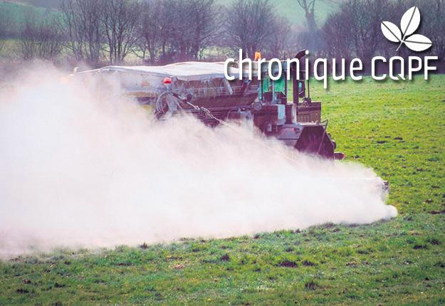 Le rôle principal du chaulage est de corriger l'acidification graduelle du sol. Photo : Gracieuseté du CQPF