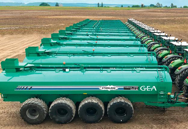 Le nouveau nom de marque apportera force, harmonie et une plus grande visibilité du produit, renforçant ainsi la position de GEA en tant que leader dans le domaine de la gestion du fumier. Photo : Gracieuseté