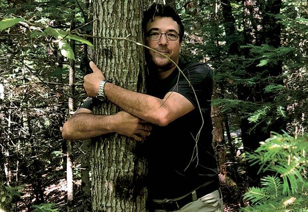 Christian Messier, professeur d'écologie forestière à L'UQÀM.
