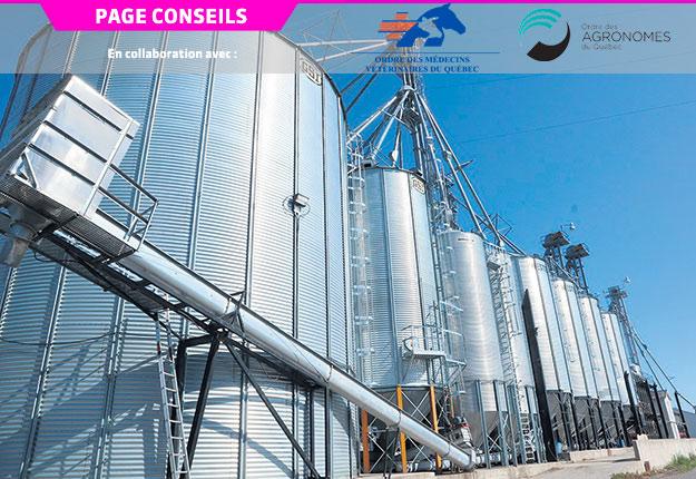 Pour sécher et aérer le grain adéquatement, il faut avoir le bon ventilateur permettant de fournir un débit d'air assez élevé pour la quantité de grains dans le silo. Photo : Gracieuseté du réseau agrocentre