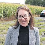 Annie Bergeron, présidente de l'Association des marchands de semences du Québec.