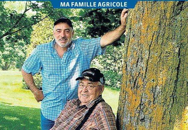 Les Sévigny estiment que leur vétérinaire de Saint-Georges, Sylvain Tardif, a aussi contribué au succès de leur entreprise laitière grâce à ses précieux conseils.