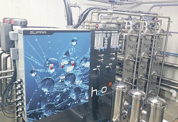 H2O Innovation compte présentement trois machines en fonction dans le marché de l'acériculture. Photo : Gracieuseté de H2O Innovation