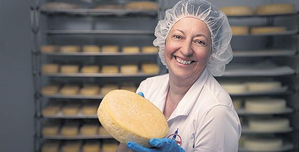 La fromagère Hélène Lessard craint surtout l'après jour de l'An. Photo : Gracieuseté d'Hélène Lessard