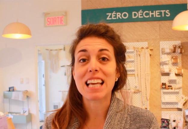 Elysabeth Lefebvre, propriétaire et cofondatrice d'Agro-Passion, propose aux citoyens sept façons d'encourager leur entourage à consommer davantage localement. Photo : Capture d'écran
