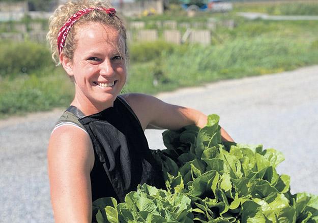 Audrey Bogemans et sa famille ont commencé à cultiver des légumes sur une partie de leurs terres consacrées aux grandes cultures. Photos: Gracieuseté d'Audrey Bogemans