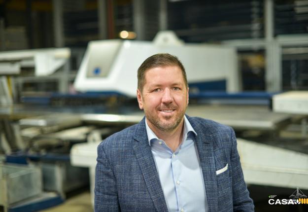Mathieu Racine président de CASA a présenté les différents projets à Investissement Québec.