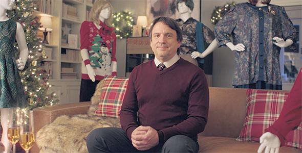 Le comédien Claude Legault a personnifié la campagne publicitaire 2020 de l'Érable du Québec. Photo : Producteurs et productrices acéricoles du Québec
