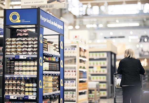 Des producteurs ont soulevé l'idée de fonctionner avec les différentes identifications déjà certifiées par Aliments du Québec. Photo : Aliments du Québec