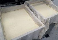 SoyXpert a présentement besoin d'environ 1,5 tonne de soya biologique par semaine pour produire ses briques de tofu distribuées dans 120 points de vente. L'entreprise prévoit quadrupler sa production d'ici la fin de l'été 2021. Photo : Gracieuseté de SoyXpert