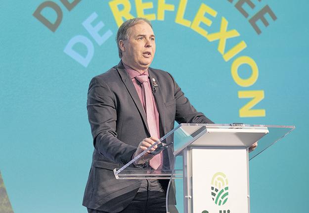 Ghislain Gervais. Photo : Gracieuseté de Sollio Groupe Coopératif