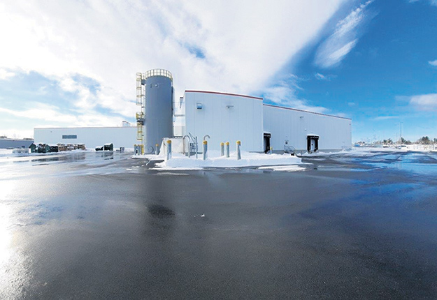 L'usine de production de Mini Babybel de Sorel-Tracy ne reçoit que 70000 litres de lait chaque jour, soit la moitié de la quantité prévue. Photo : Gracieuseté de la Fromagerie Bel