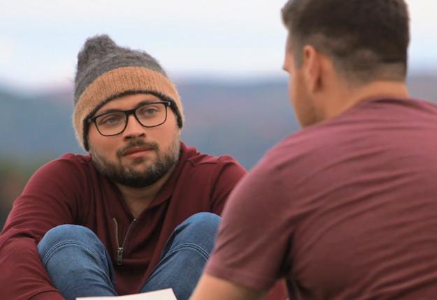 Alex est éperdument amoureux de David et heureusement pour lui, c'est réciproque. Longue vie à tous les deux. Photos : Gracieuseté Noovo