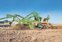 Les déchaumeuses à disques indépendants de la série Catros, d'Amazone, sont très populaires pour la préparation du sol au printemps. Photo : Gracieuseté d'Amazone