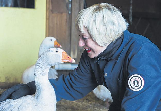 L'accès à un abattoir est devenu si compliqué que Linda Lazure, propriétaire du Gîte des Oies à Roxton Falls en Montérégie, se questionne sur l'avenir de son entreprise. Photo : Gracieuseté de Linda Lazure