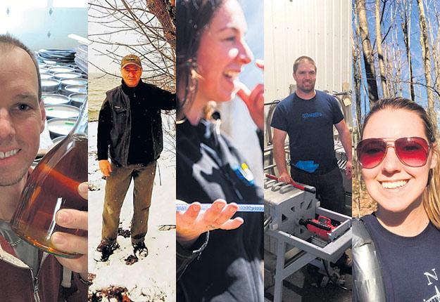 Les acéricultrices et acériculteurs suivis par la Terre cette année.