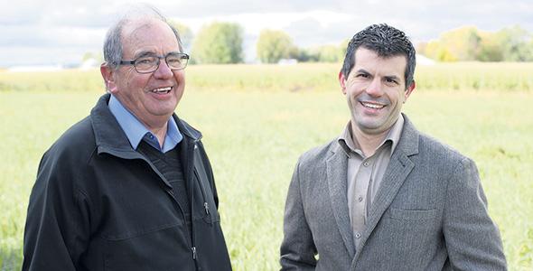 Les fondateurs de Novations AGL Germain et Antoine Lefebvre. Photo : Gracieuseté Novations AGL