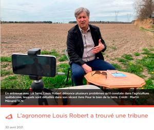 Pour accéder au texte et à la vidéo sur Louis Robert, cliquez sur l'image.