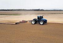 Lucie Marcoux estime avoir bénéficié de conditions de semis hors du commun à Saint-Zéphirin-de-Courval. Photo : Gracieuseté