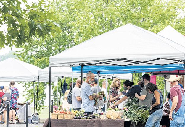 Plus de 140 marchés publics seront déployés au Québec cet été. Photo : Sandra Larochelle/Gracieuseté de l'AMPQ
