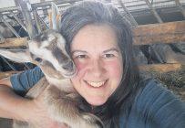 Pascale Martin a repris la production de lait de chèvre familiale il y a quelques années. Photo : Gracieuseté de Pascale Martin