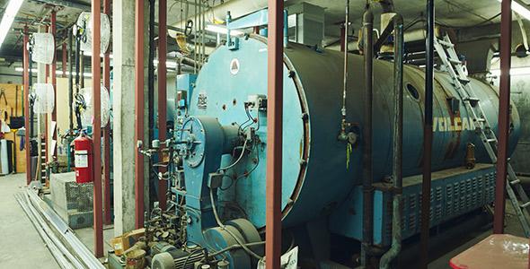 Le système de chauffage électrique de la serre. Depuis décembre 2020, la serre de Ham-Nord coûte deux fois moins cher à chauffer.