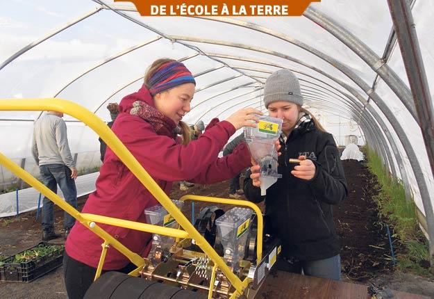 La prévention passe inévitablement par la formation de main-d'œuvre. Photos : Institut de technologie agroalimentaire du Québec