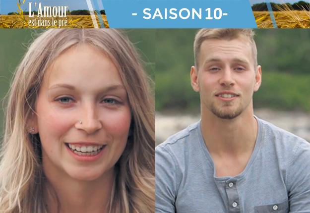 Une sœur et un frère font tous les deux partie des huit finalistes de l'émission: Marika, 26 ans, et Jacob, 24 ans, actionnaires avec leur père d'une ferme laitière à Sainte-Eulalie. Photos : Noovo