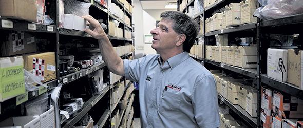 Le Centre Agricole est renommé dans le domaine de la machinerie pour détenir le plus grand inventaire de pièces chez CASE IH au Québec.
