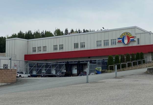 L'usine Olymel de Vallée-Jonction, dans Chaudière-Appalaches, est paralysé par une grève depuis le 28 avril. Crédit photo : Martine Veillette/TCN