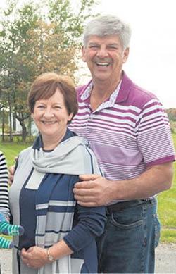 Les parents de Jacques, Pierrette Lemieux et Ghislain Cloutier.