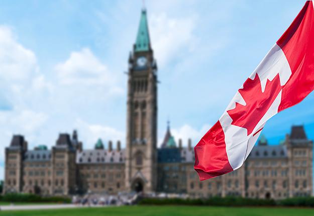 Les Canadiens ont réélu les libéraux à la tête d'un gouvernement minoritaire. Photo : Shutterstock