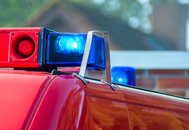 Plus de 35 pompiers de quatre casernes différentes ont été dépêchés sur les lieux. Photo : Shutterstock